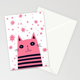 Dreaming Kitty Stationery Cards