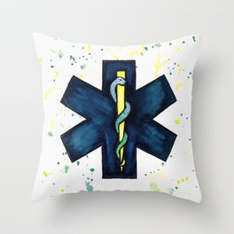 EMT Hero Throw Pillow