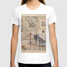 Carl Larsson - Cosy Corner (From a Home watercolor series) T-shirt