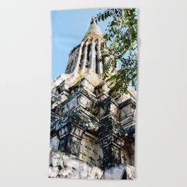 Ang Duong Stupa Beach Towel