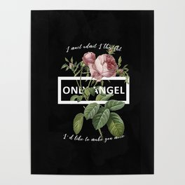 Harry Styles Only Angel graphic artwork Poster