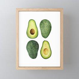 Avocados Framed Mini Art Print