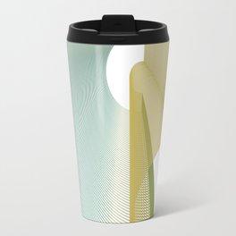 """""""La fine"""" minimal/geometric elegant art Travel Mug"""