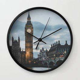 London, United Kingdom II Wall Clock