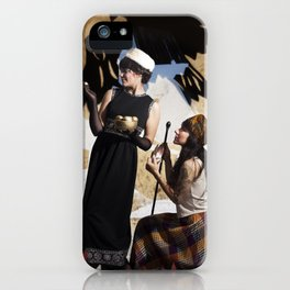The Feather of Finest the Falcon iPhone Case