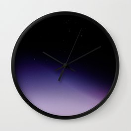Let's Spend Tonight On Top of the World Wall Clock