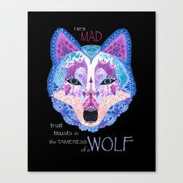 Shakespearean Wolf Canvas Print