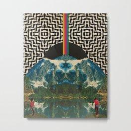 Intra rainbow Metal Print