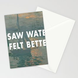 I Saw Water x French Sunrise Stationery Cards