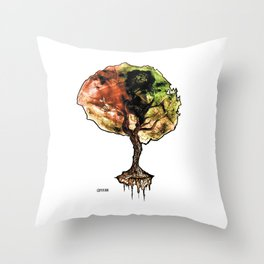A Tree of Life Throw Pillow
