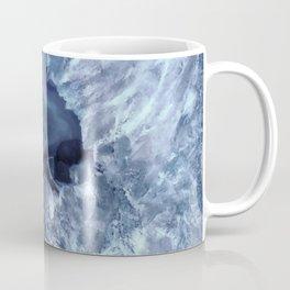 Steely Blue Quartz Crystal Coffee Mug