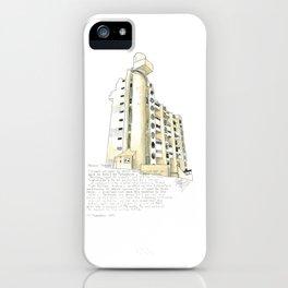 Hooper Street, Wellington iPhone Case