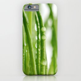 Green gras 03 iPhone Case