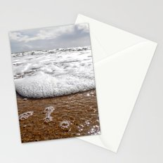 walk into the sea Stationery Cards