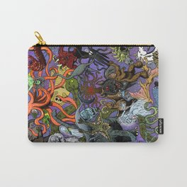Cryptid Creatures and Mysterious Monsters Carry-All Pouch