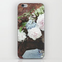 Urn Arrangement on Barn Door iPhone Skin