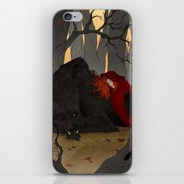 The Big Bad Wolf iPhone Skin