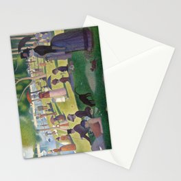 Georges Seurat - A Sunday Afternoon on the Island of La Grande Jatte Stationery Cards