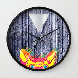 Foreboding Wall Clock