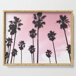 Palms & Sunset Serving Tray