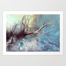 Büyülü Nehir Art Print