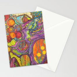 Right Brain Activity Stationery Cards