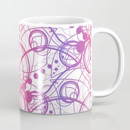 Colored Lotus Rainbow Coffee Mug