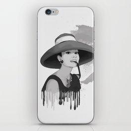 Audrey Herpburn iPhone Skin