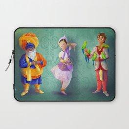 3 indians Laptop Sleeve