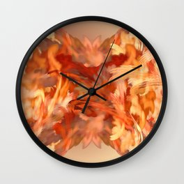 Feel the fire in your Cells Wall Clock