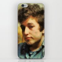dylan iPhone & iPod Skins featuring dylan  by janice maclellan