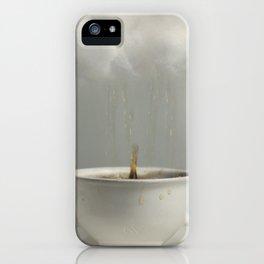 Raining Tea iPhone Case