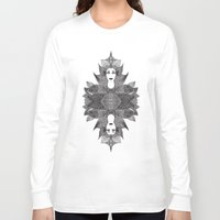 goddess Long Sleeve T-shirts featuring Goddess by ioannart