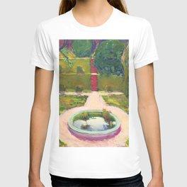 """Koloman (Kolo) Moser """"Garden with fountain"""" T-shirt"""