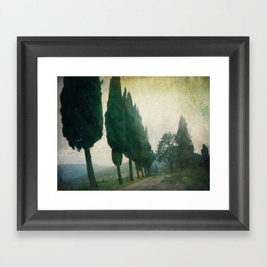 Toscana Vintage I Framed Art Print
