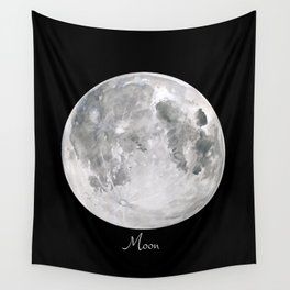 Moon #2 Wall Tapestry