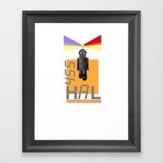 Hal Framed Art Print