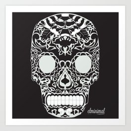 calaverita de azucar Art Print