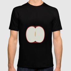 Apple 29 MEDIUM Black Mens Fitted Tee
