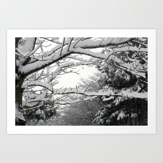 Snowscape Art Print