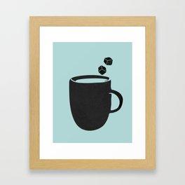 Ice coffee Framed Art Print