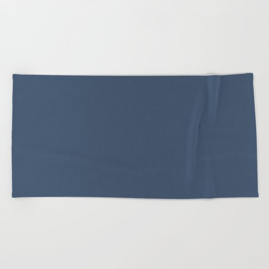 Simply Indigo Blue Beach Towel