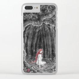 Skogsrået Clear iPhone Case
