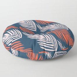 Blue Palms Floor Pillow