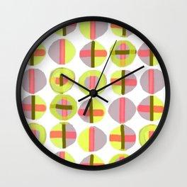 X Marks the Spot Wall Clock