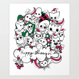 happy always Art Print