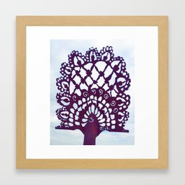 """""""Lace of Time"""" Framed Art Print"""
