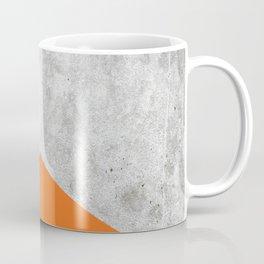 Concrete Arrow - Orange #118 Coffee Mug