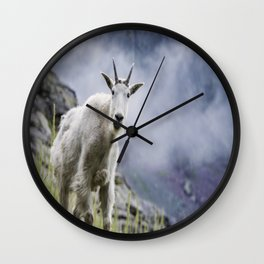 Mountain Goat Wall Clock