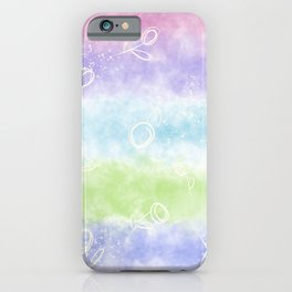 Fluttering in wind by Sarah Joo iPhone Case